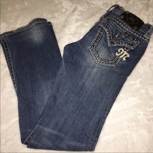 Miss Me BootCut Bling Jeans Sz 27 Style JE5014B90L